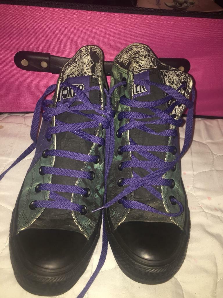 aa1b85daf0b7 Rare joker converse shoes uk size 8