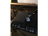 Roland SPD-SX electronic percussion pads + mount for stand