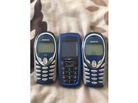 3 Mobile Phones - Unlocked
