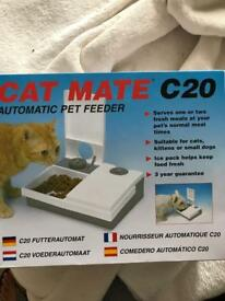 Cat ate C20 automatic pet feeder New