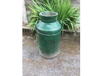 Vintage Metal Milk Churn