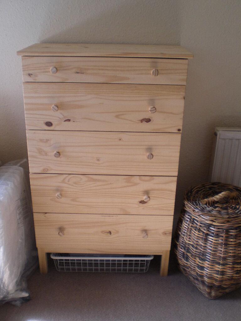 Ikea Tarva Chest Of  Drawers Pine Wood