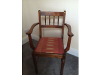 Old Wooden Chair - Vintage Rare Antique