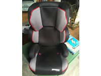 Child Car Safety Seat. For 4yrs to 12yrs and/or (15-36Kgs). Splits into booster seat