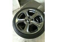 Fiesta ST alloy wheels