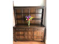 Welsh dresser cabinet