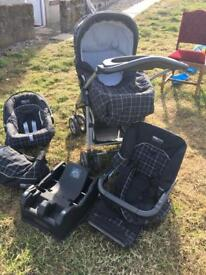 M&P 3 in 1 travel system