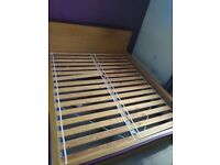 IKea King size bed & Solid wood bunk bed