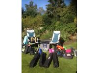 Complete Family Camping Set (mostly unused). For sale as a whole set only. Value over £1000