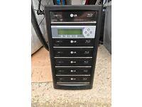 DVD / BluRay Duplicator 1-5 Total of 6 drives