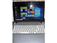 """Zoostorm W76TH 15.6"""" screen laptop in PINK. Windows 10 and Open Office"""