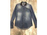 Men's denim shirt from Zara size M