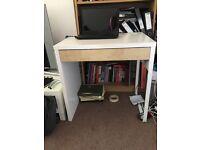 White IKEA Computer Desk - Great condition