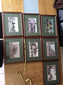 7 Framed Photos of Christchurch Dorset