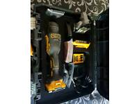 Dewalt DCS355 18v XR Brushless Oscillating Multi Tool Kit TSTAK Brushless li-ion