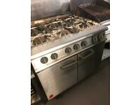 Falcon 6 burner cooker with oven G3 101 x2