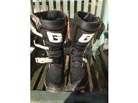 GAERNE Kids Motocross / Trials Boots Size Eur 40 (UK6)
