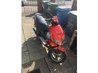 Peugeot speedfighter 100 bike is non starter