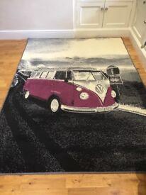VW Camper Van desing rug