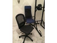 Black Office chair for sale in good condition