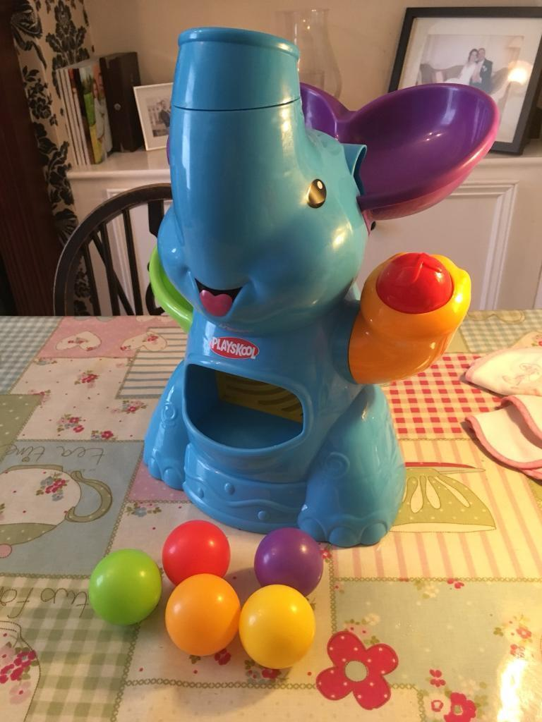 Playskool elephun busy ball popper