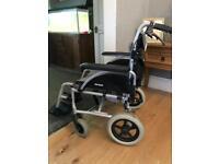Roma Orbit Lightweight Aluminium Car Transit Assistant Controlled Wheelchair