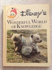 Disney's Wonderful World of Knowledge Books 1-9