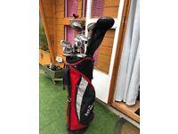 Bay hill golf club set, bag and trolley