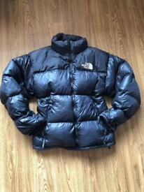 Genuine North Face Nuptse Down Jacket - Mens Large