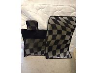 R56 Mini JCW Chequered Car Mats