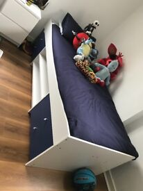 Kids Single Bed Without Matress - Only 5 Months Old