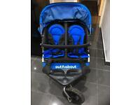 Out and about double pushchair v3