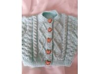 Beautiful handmade knitting