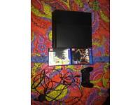 PS 4 500gb for sale wth 2 games