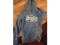 3 Superdry women's size small hoodies £5 each