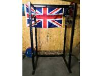 Custom Built Power Cage/Rack Squat Powerlifting with Monolift Attachments