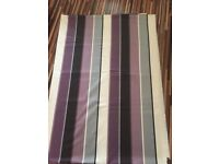 Beautiful Purple stripe Jaquard fabric, Brand new! Gorgeous shine! 4 metres, £10