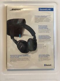 Bose SoundLink Wireless Bluetooth Headphones - Brand new - Sealed