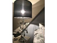 Gorgeous black table lamp