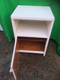 Painted retro bedside cabinet FREE DELIVERY FRIDAY