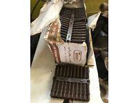 Brown fixing plugs 1000 7mm