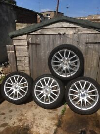 Vw golf mk5 17 inch G.T alloys
