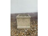 1 x Stone Garden Planter for sale £27.00