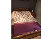 Two single duvet covers and pillow cases for sale