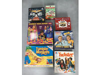 Games Tumbling Monkeys,Marble Run,Happy Feet,Twister,Wimpy Kid,Game of Fame,Monopoly Travel Ed