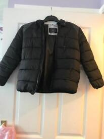 Boys puffs coat age 10