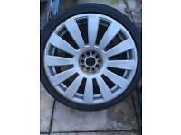 """19"""" rims / wheels / Volkswagen / Audi / 235/35/19 tyres"""