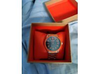 Metal super dry watch never been used with box etc