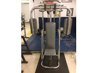 Commercial pec dec stack and pin machine