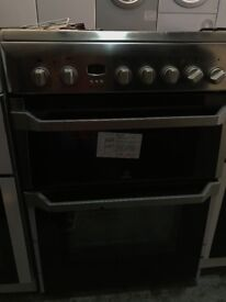 New/Graded Indesit 60cm 2 door ceramic electric cooker for £249 with 12 months gurantee.